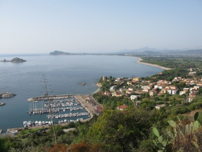 Santa Maria Navarrese, Arbatax bay, ...