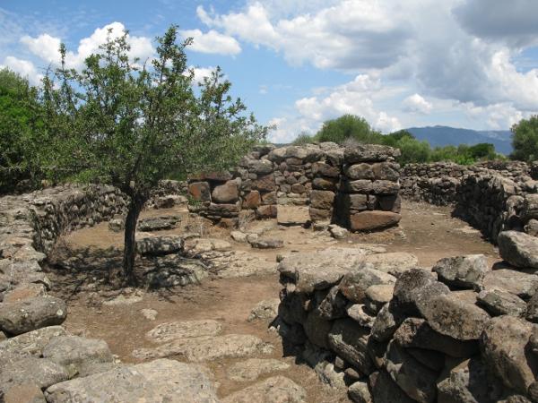 Nuragic village Serra Orrios