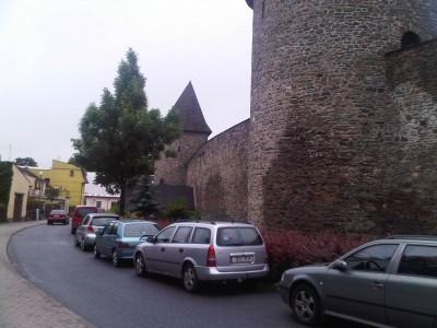 Polička - town walls