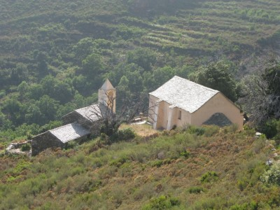 Chapel near Olmeta-di-Capocorso
