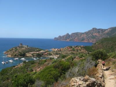 Girolata village