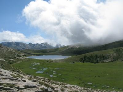 Lac de Nino from Bocca â Stazzona