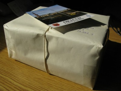 Package of QSL cards