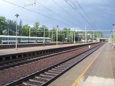 The journey begins (Choceň railway station)