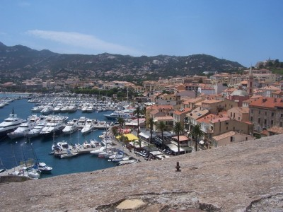Calvi (a view from citadel)