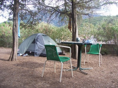 Our tent in Tuarelli