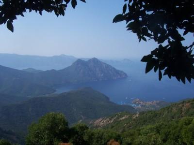 Golfe de Girolata and Monte Senino