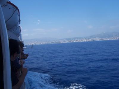 Bastia -> Genova ferry