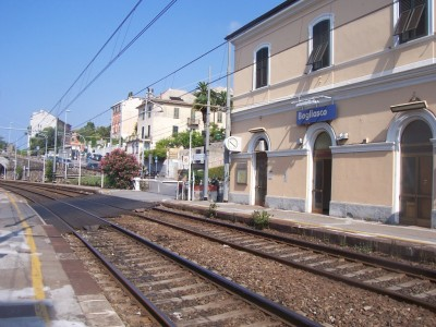 Bogliasco railway station