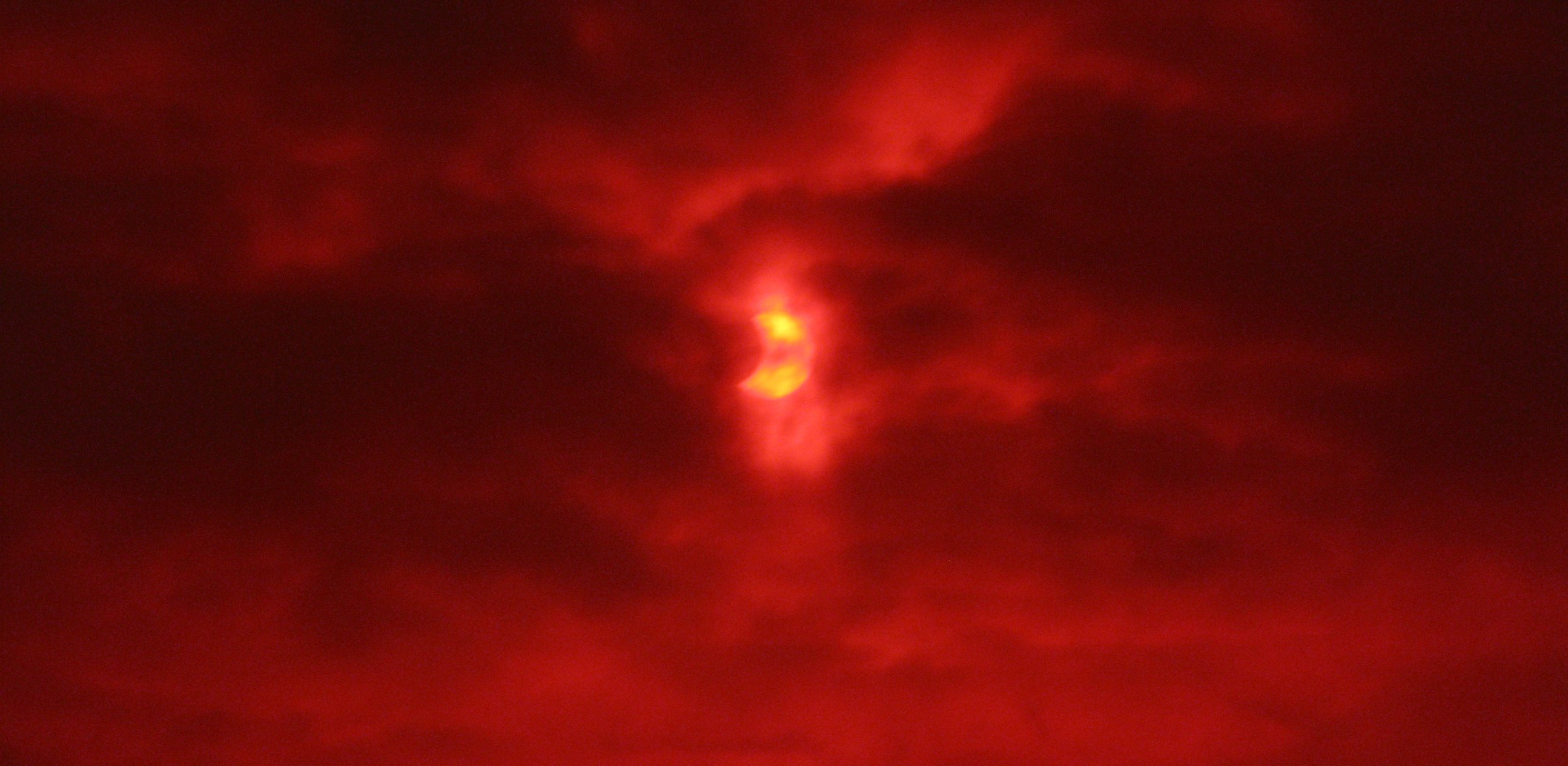 Partial solar eclipse 2011